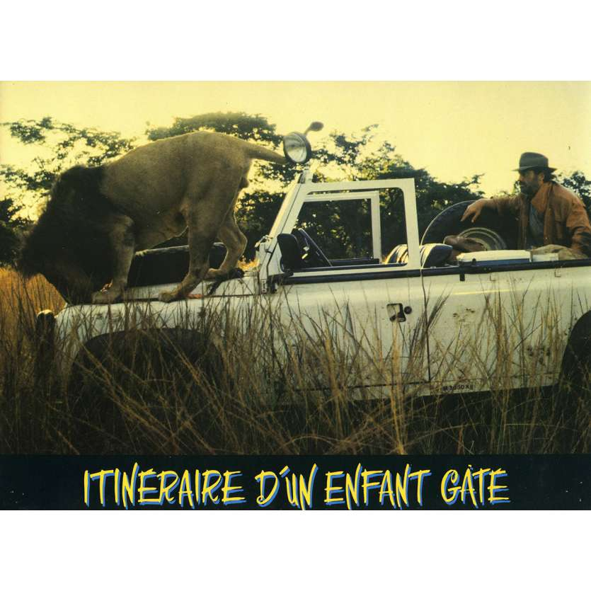 ITINERAIRE D'UN ENFANT GATE Photo de film N5 21x30 cm - 1988 - Jean-Paul Belmondo, Claude Lelouch
