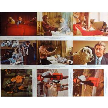 EVERYTHING YOU ALWAYS WANTED TO KNOW ABOUT SEX Lobby Cards x9 Jeu B 9x12 in. French - 1973 - Woody Allen, Gene Wilder