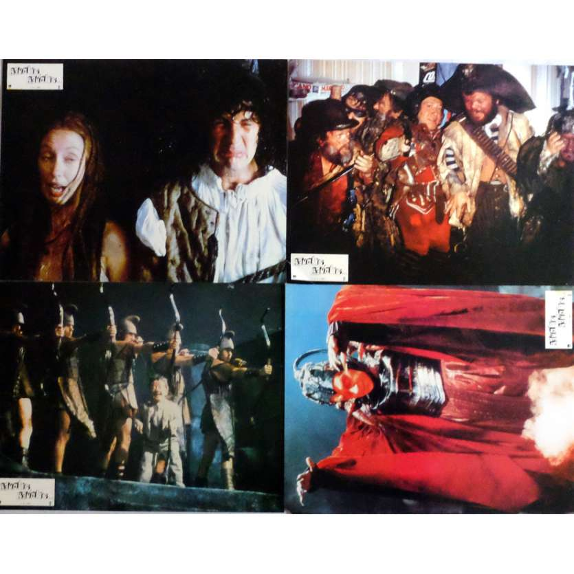 TIME BANDITS Lobby Cards x4 9x12 in. French - 1981 - Terry Gilliam, Sean Connery