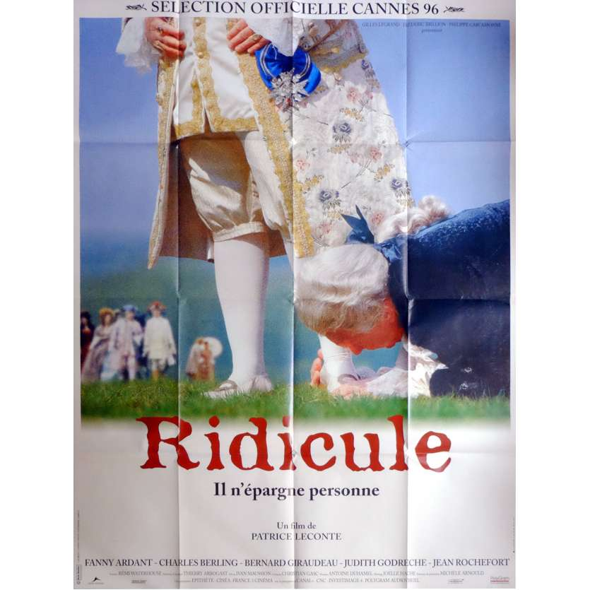 RIDICULE Movie Poster 47x63 in. French - 1996 - Patrice Leconte, Charles Berling