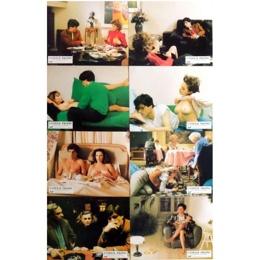 L'AMOUR PROPRE Photos de film x8 21x30 cm - 1985 - Jean-Luc Bideau, Martin Veyron