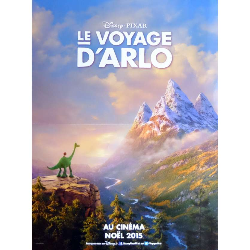 THE GOOD DINOSAUR Movie Poster Prev 15x21 in. French - 2015 - Pixar, Jeffrey Right