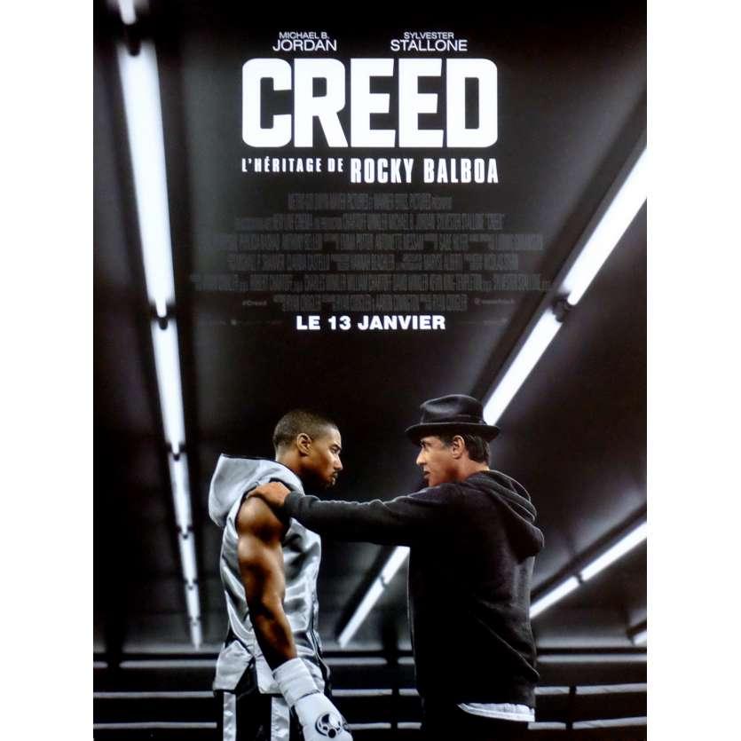 CREED L'HERITAGE DE ROCKY Affiche de film 40x60 cm - 2015 - Sylvester Stallone, Ryan Coogler