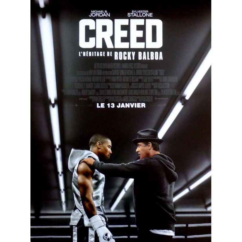 CREED Movie Poster 15x21 in. French - 2015 - Ryan Coogler, Sylvester Stallone