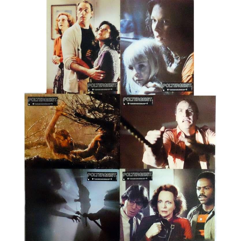 POLTERGEIST Photos de film x6 21x30 cm - 1982 - Heather o'rourke, Steven Spielberg