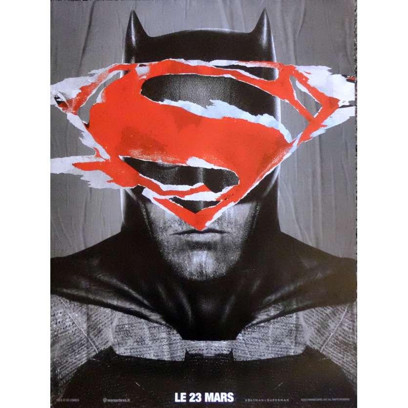 BATMAN VS SUPERMAN Affiche de film BT Style 40x60 cm - 2016 - Ben Affleck, Zack Snyder