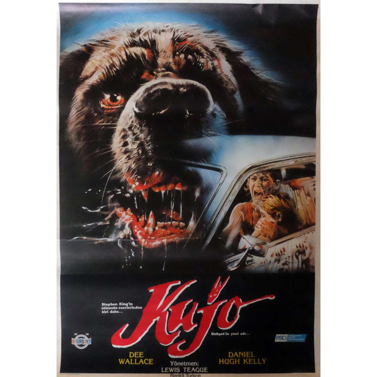 Cujo movie poster