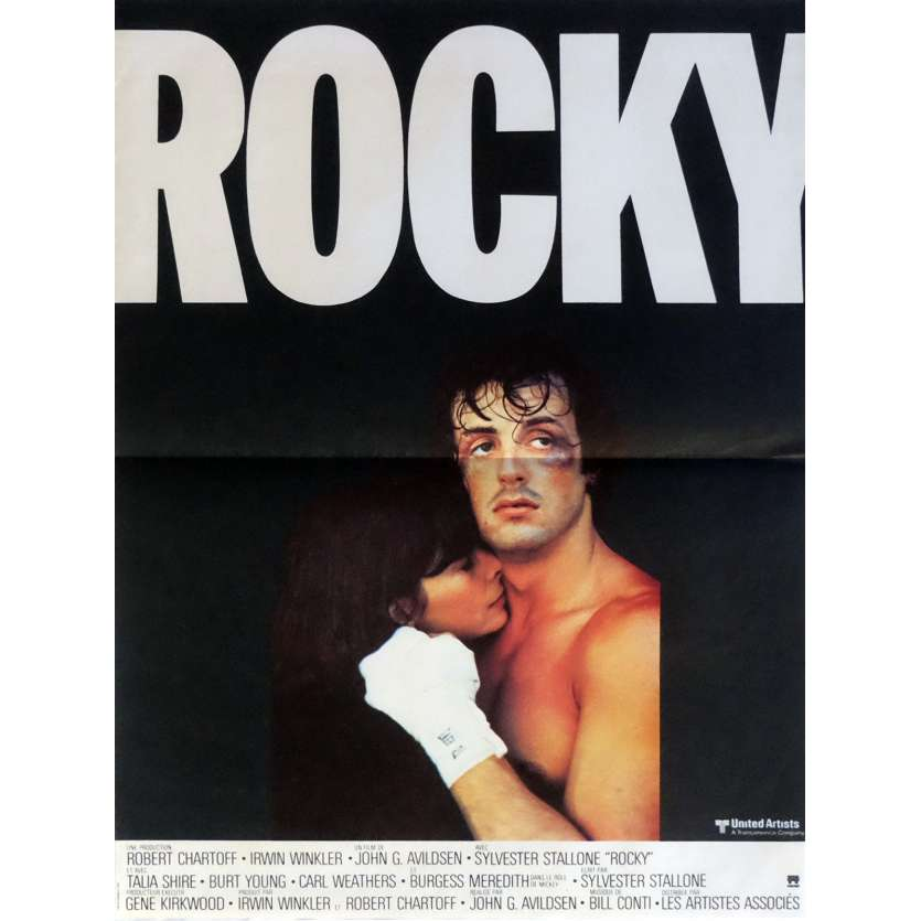 ROCKY French Movie Poster 15x21 – mat FR '76 Sylvester Stallone