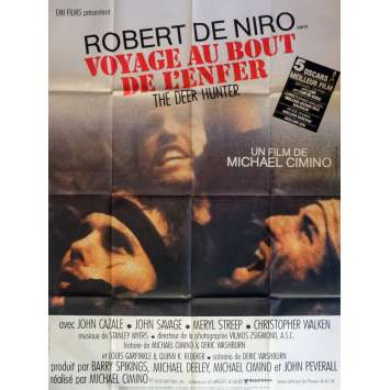 DEER HUNTER French Movie Poster 47x63 '79 de Niro, Walken, Deer Hunter Poster