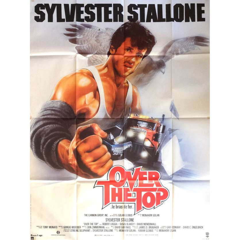 OVER THE TOP French Giant Poster 47x63 '87 Sylvester Stallone