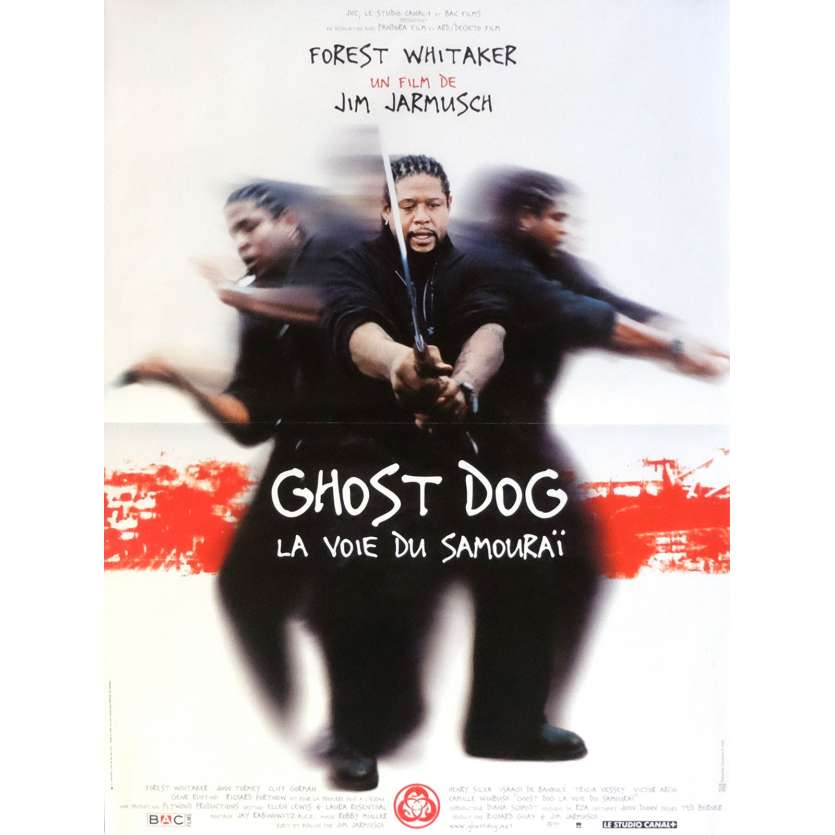 GHOST DOG French Movie Poster 15x21 - 1999 - Jim Jarmush, Forest Whitaker