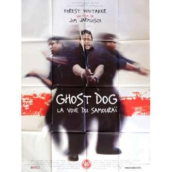 GHOST DOG Affiche de film 120x160 - 1999 - Forest Whitaker, Jim Jarmusch