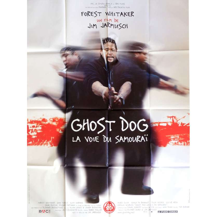 GHOST DOG French Movie Poster 47x63- 1999 - Jim Jarmusch, Forest Whitaker