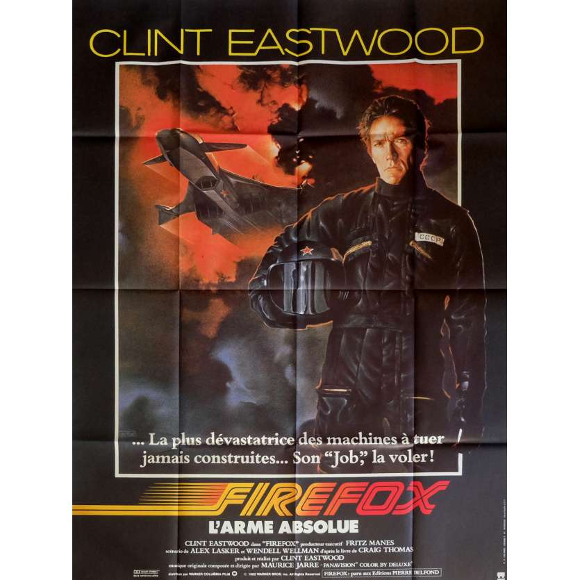 FIREFOX French Movie Poster 47x63 '82 Clint Eastwood