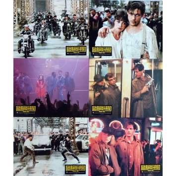 THE STREETS OF FIRE Lobby Cards x6 , jeu A 9x12 in. French - 1984 - Walter Hill, Michael Paré