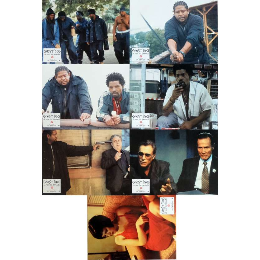 GHOST DOG Photos de film x7 21x30 cm - 1999 - Forest Whitaker, Jim Jarmush