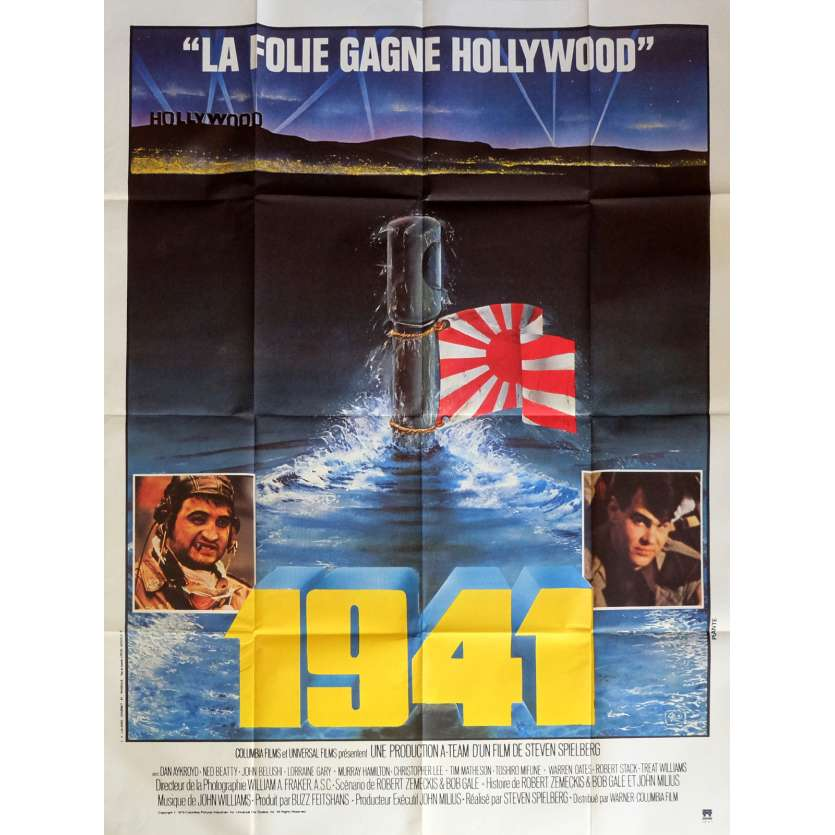 1941 Movie Poster 47x63 in. French - 1979 - Steven Spielberg, John Belushi