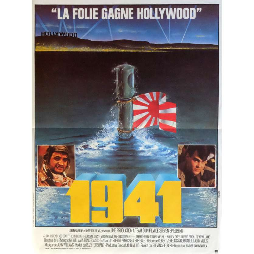 1941 Movie Poster 15x21 in. French - 1979 - Steven Spielberg, John Belushi