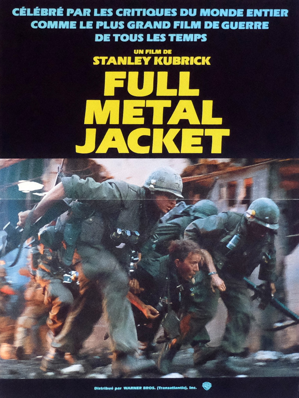 full metal jacket film study I just finished watching 'full metal jacket', and have a lot of food for  study the  general flow of the film– in terms of the camera angles, the.