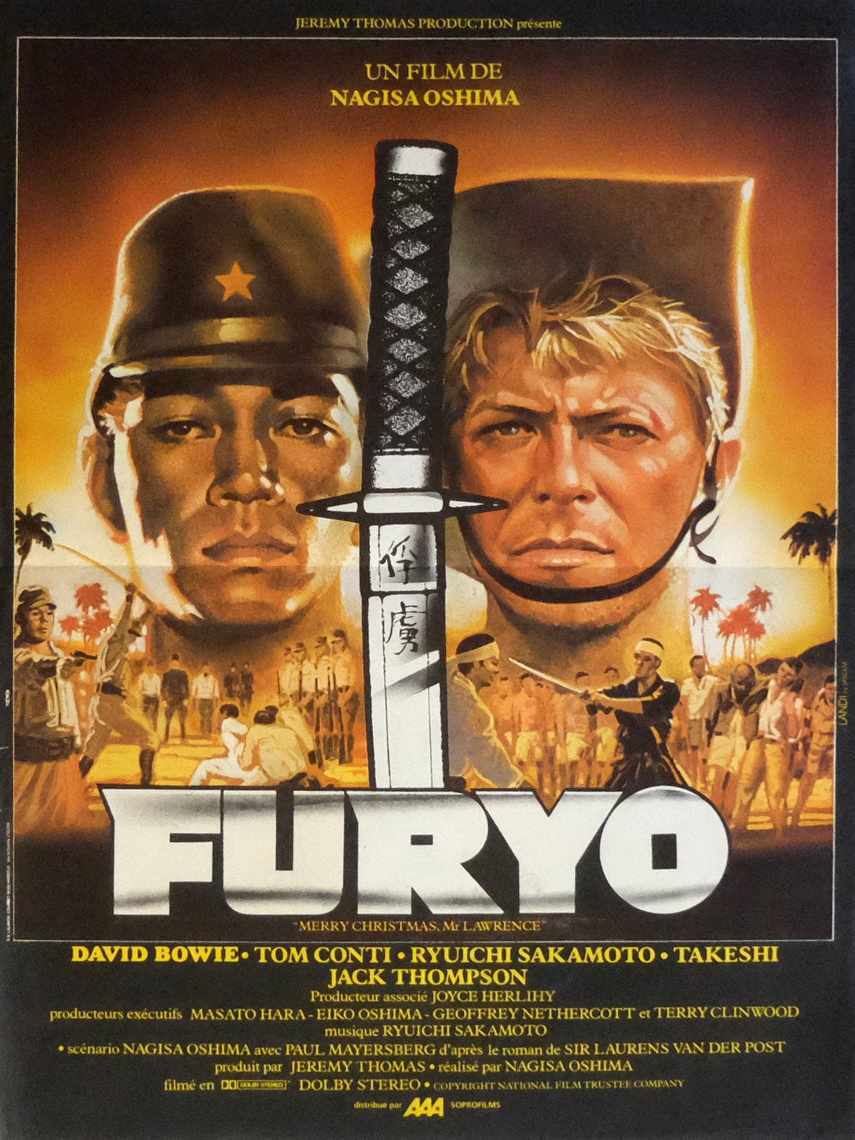 MERRY CHRISTMAS MR LAWRENCE Movie Poster