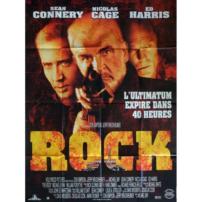 ROCK Affiche de film 120x160 cm - 1996 - Sean Connery, Michael Bay