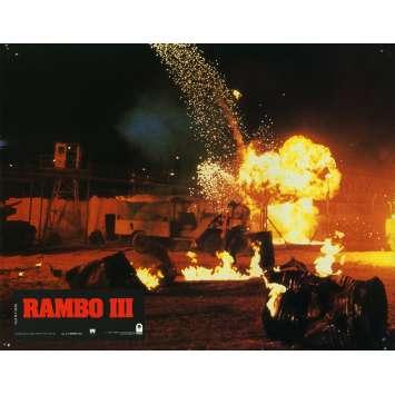 RAMBO 3 Photo de film N15 21x30 cm - 1988 - Richard Crenna, Sylvester Stallone