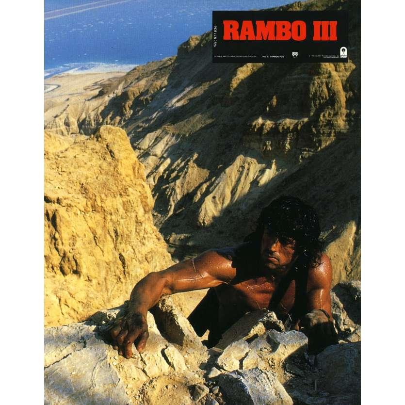 RAMBO 3 Photo de film N3 21x30 cm - 1988 - Richard Crenna, Sylvester Stallone