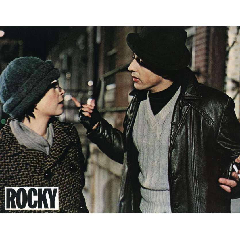 ROCKY Lobby Card N2 9x12 in. French - 1976 - John G. Avildsen, Sylvester Stallone