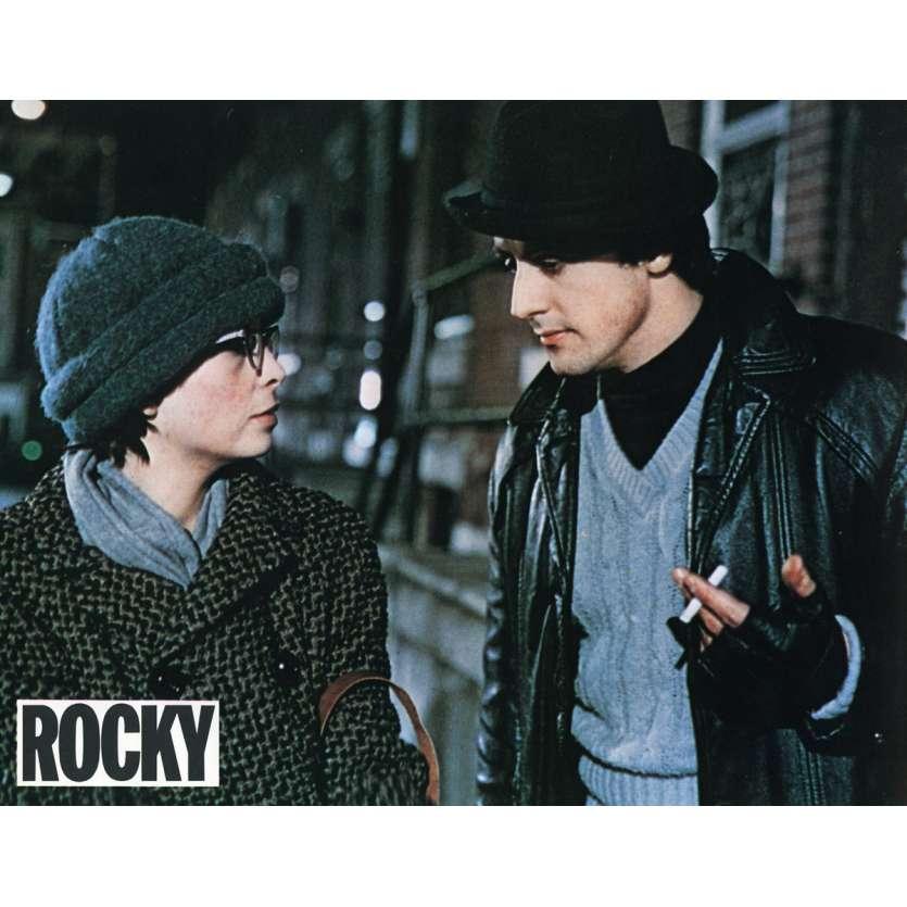 ROCKY Lobby Card N1 9x12 in. French - 1976 - John G. Avildsen, Sylvester Stallone