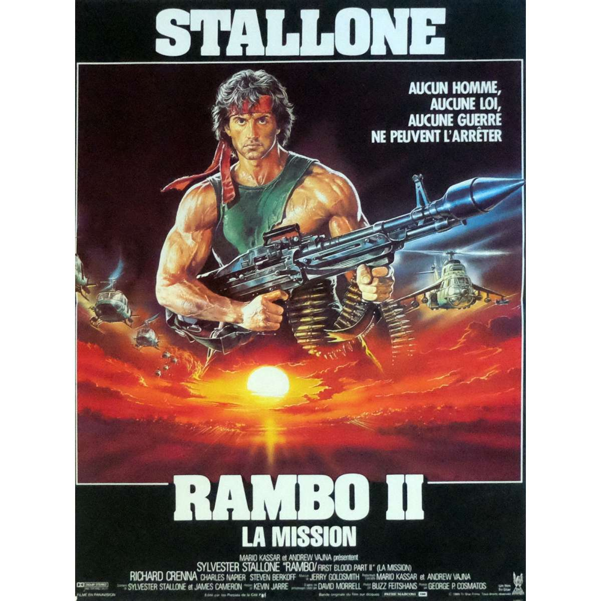 Rambo First Blood Part Ii Movie Poster
