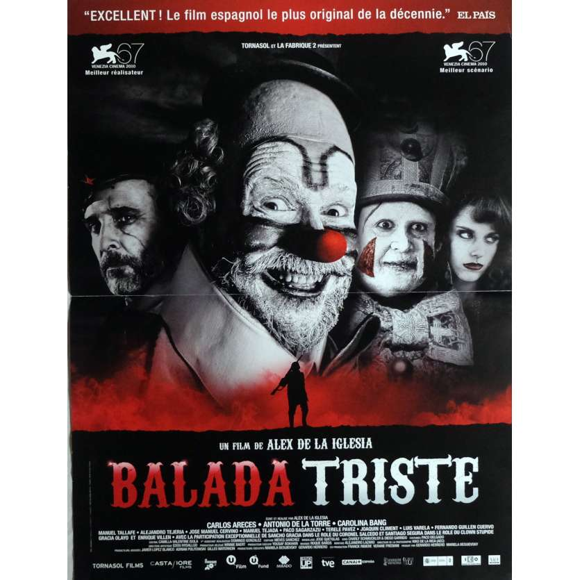 BALADA TRISTE Affiche de film 40x60 cm - 2010 - Carlos Areces, Alex de la Iglesia