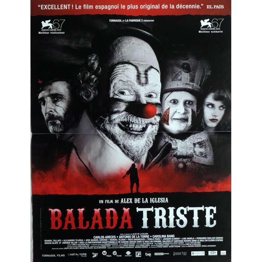 THE LAST CIRCUS Movie Poster 15x21 in. French - 2010 - Alex de la Iglesia, Carlos Areces