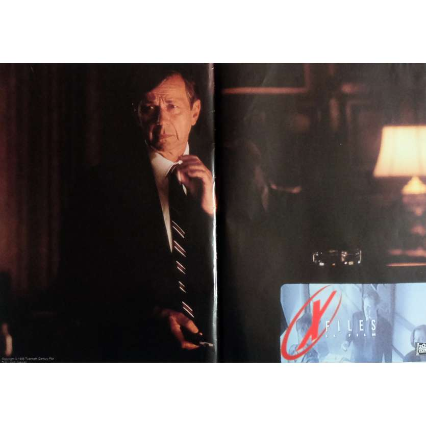 X-FILES Photobusta N1 40x60 cm - 1998 - David Duchovny, Rob Bowman