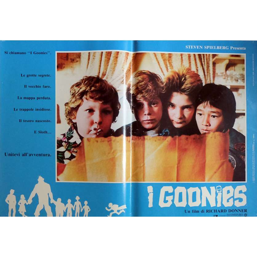 THE GOONIES Photobusta Poster N8 15x21 in. Italian - 1985 - Richard Donner, Sean Astin