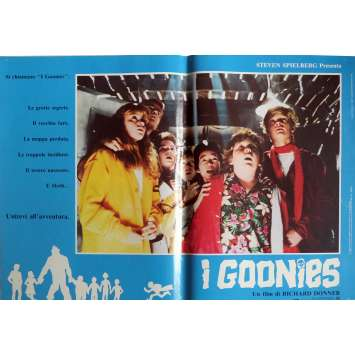 THE GOONIES Photobusta Poster N7 15x21 in. Italian - 1985 - Richard Donner, Sean Astin