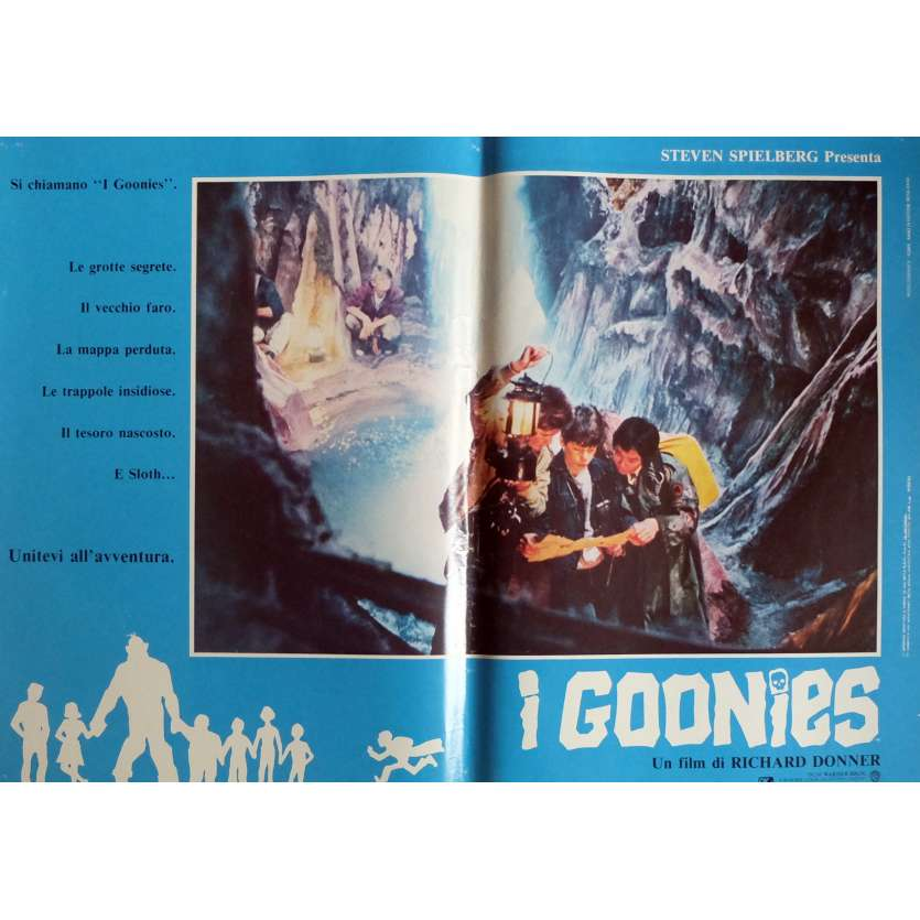 THE GOONIES Photobusta Poster N6 15x21 in. Italian - 1985 - Richard Donner, Sean Astin