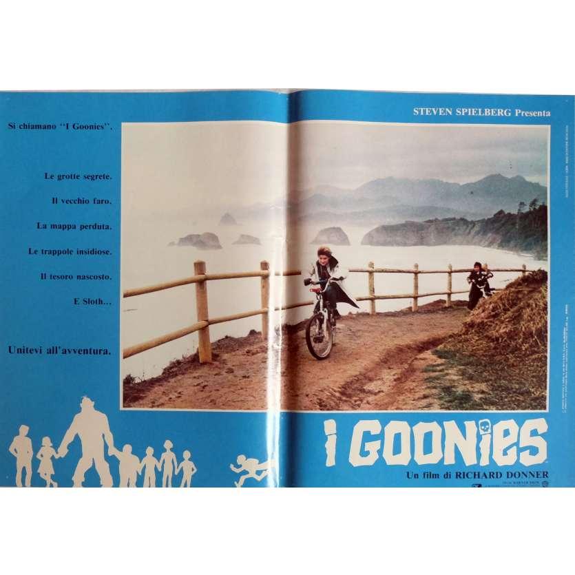 THE GOONIES Photobusta Poster N5 15x21 in. Italian - 1985 - Richard Donner, Sean Astin