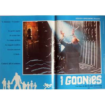 LES GOONIES Photobusta N2 40x60 cm - 1985 - Sean Astin, Richard Donner
