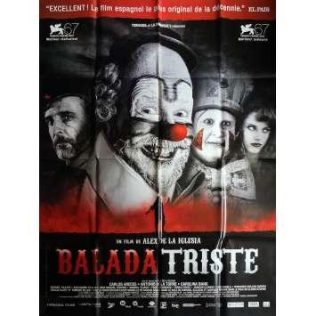 BALADA TRISTE Affiche de film 120x160 cm - 2010 - Carlos Areces, Alex de la Iglesia