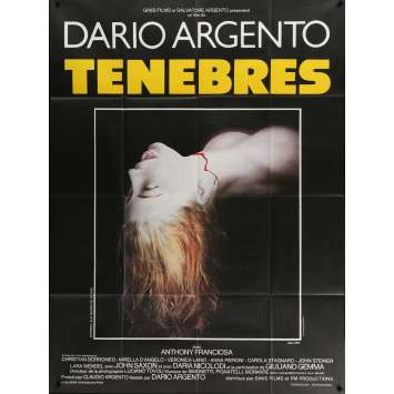 TENEBRE Movie Poster 47x63 '83 Dario Argento