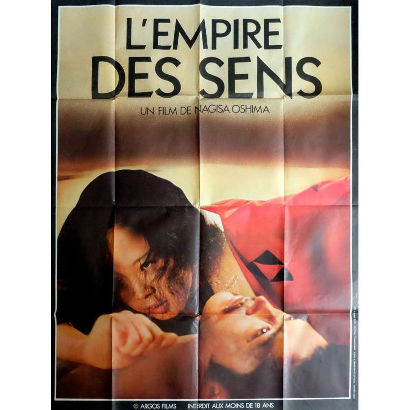 IN THE REALM OF THE SENSES French one-panel movie poster R80 Japan Nagisa Oshima
