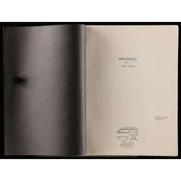 APOCALYPSE NOW Scénario 21x30 cm - 1979 - Marlon Brando, Francis Ford Coppola