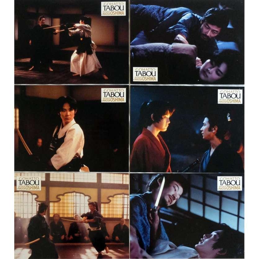 TABOU Photos de film x7 21x30 cm - 1999 - Takeshi Kitano, Nagisa Oshima