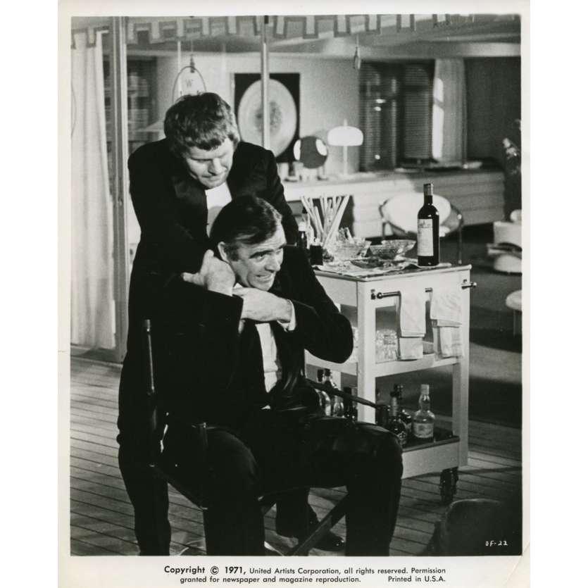 LES DIAMANTS SONT ETERNELS Photo de presse N6 20x25 cm - 1971 - Sean Connery, Guy Hamilton