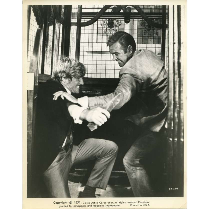 LES DIAMANTS SONT ETERNELS Photo de presse N4 20x25 cm - 1971 - Sean Connery, Guy Hamilton