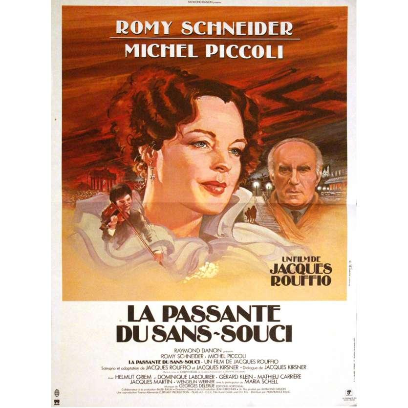 PASSANTE DU SANS-SOUCI Affiche 40x60 FR '82 Romy Shneider