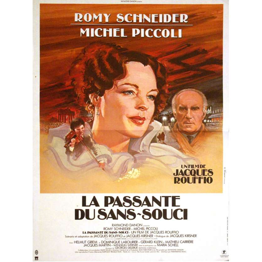 PASSANTE DU SANS-SOUCI French Movie Poster 15x21 '82 Romy Shneider