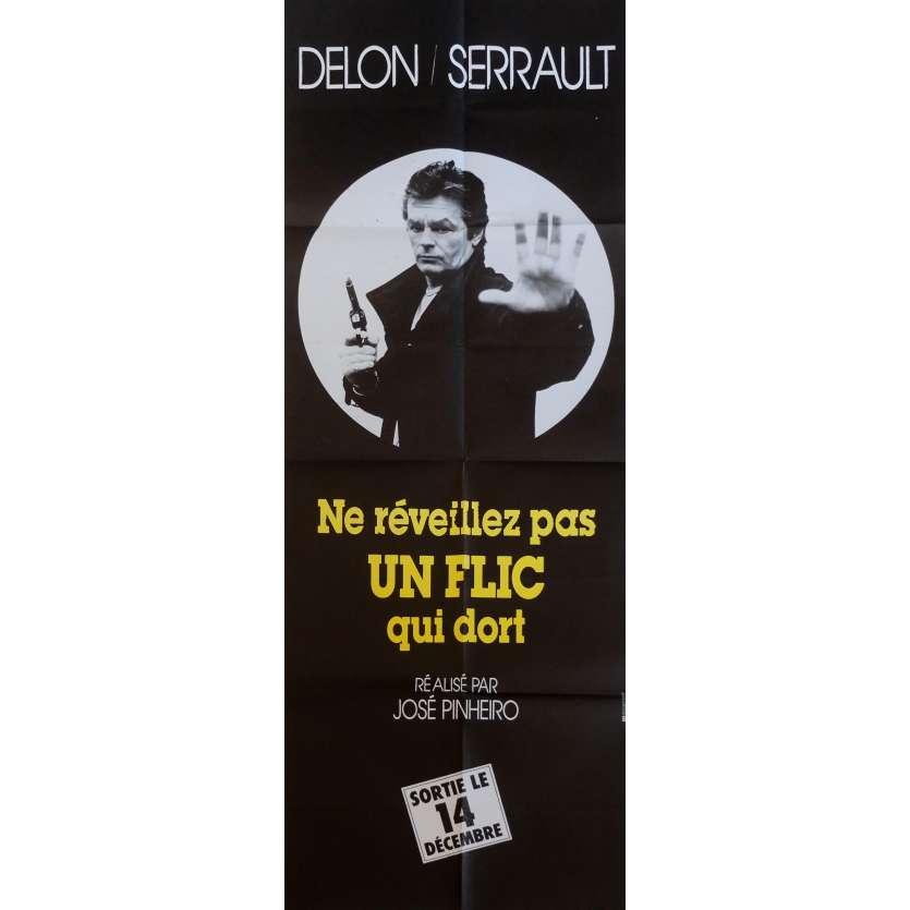 LET SLEEPING COPS LIE Movie Poster AD 23x63 in. French - 1988 - José Pinheiro, Alain Delon