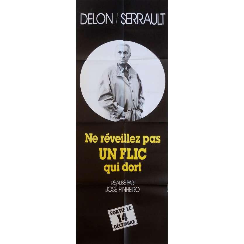 LET SLEEPING COPS LIE Movie Poster MS 23x63 in. French - 1988 - José Pinheiro, Alain Delon