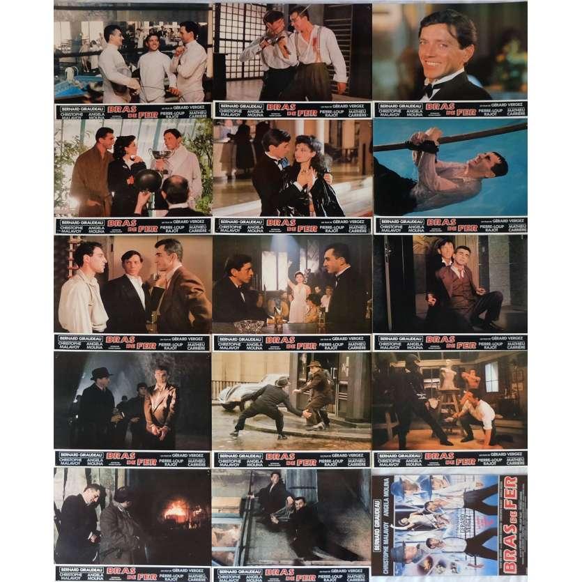 BRAS DE FER Lobby Cards x14, programme 9x12 in. French - 1985 - Gérard Vergez, Bernard Giraudeau